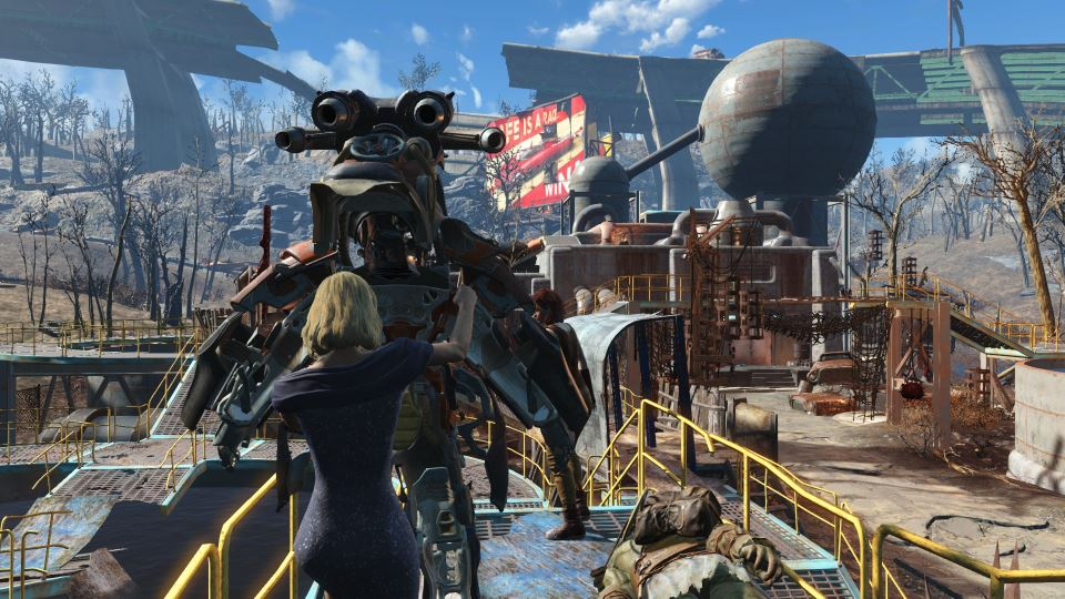 Fallout 4 City Scape