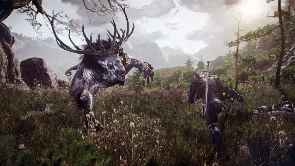 Witcher vs Beast