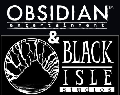 Obsidian And Black Isle Logo