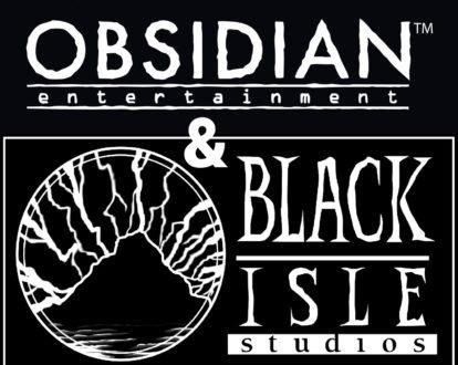 Obsidian And Black Isle Logo